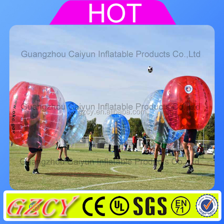 Human Sized Soccer Bubble Ball/Inflatable Bumper Ball for Adult and Kid/Hamster Ball for Sale