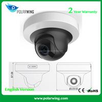 Digital Camera Hikvision 2MP WDR Mini PT Network Camera IP Camera With Audio DS-2CD2F22FWD-IS