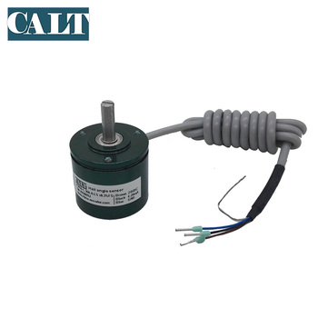 CALT 4-20mA output  Contactless Potentiometer 12 bits hall angle sensor absolute