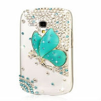 Bling Glitter Angel Crystal Case Cover For Samsung Galaxy S3 Mini i8190