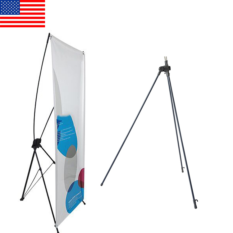 Factory Supply Exhibition Trade Show X Shape Banner Stand Display