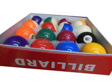 Wholesale High Qaulity Colophony 16 pcs Billiard Balls Set