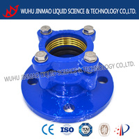 direct manufacturer epoxy resin coating strained flange adaptor