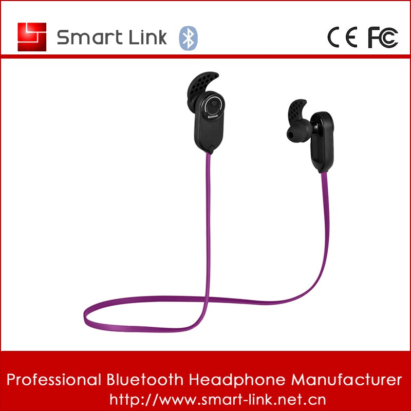Top selling wireless series sweat proof bluetooth earbuds for apple 2015