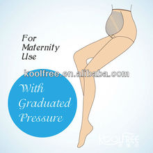 Comfortable Nylon Compression Maternity Pantyhose