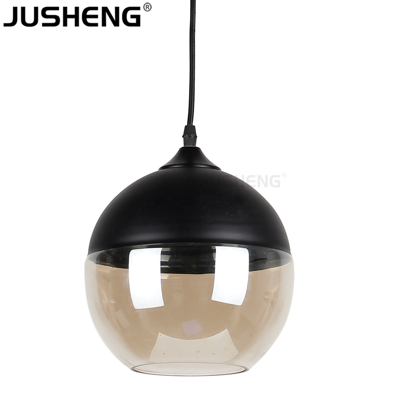 Modern Round Ball Decorative Hanging Glass Pendant Lights For Project