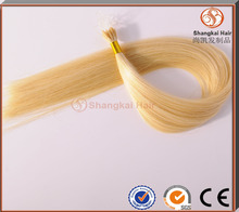 High Quality Different Length Cotton or String I Tip Hair Extension