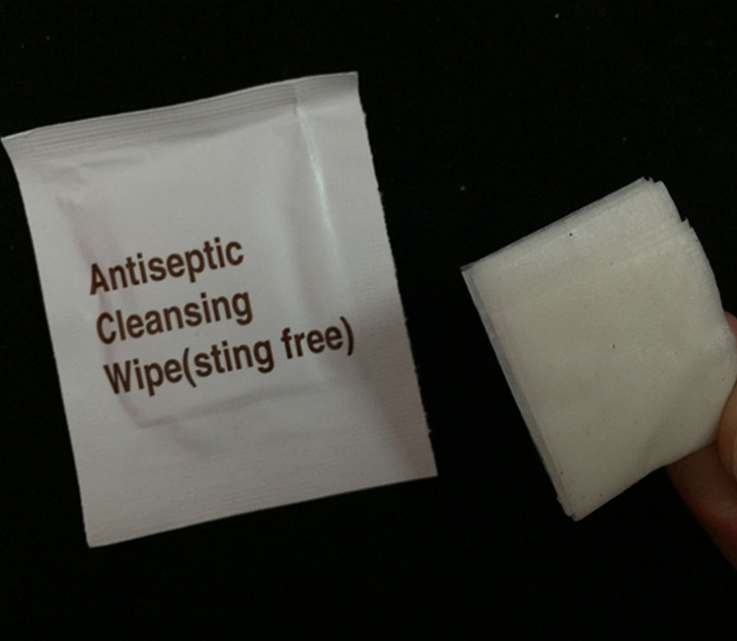 Outdoor Sting Free Antibacterial Anti-mosquito Single Pack Clean Wet Wipes with Non-woven fabrics