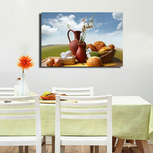 Canvas Food Oil Painting From Custom Picture Art For Home Decor