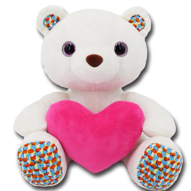 Customized Valentine Gift stuffed soft plush teddy bear toys