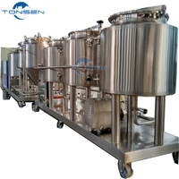 100L malt drink microbrewery equipment for pilot brewery or testing brewery
