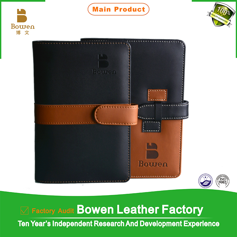 promotion gift/leather folder/memo pad/agenda/notebook/notepad/organizer