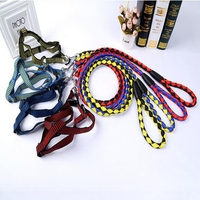 Durable Safe Strong Rope Dog Leash Dog Harness Set
