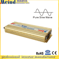 meind full power dc 12v to ac 220v pure sine wave 1000W power inverter