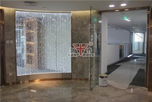 Alibaba china office acrylic bubble dividers ,blurred vision office partition wall