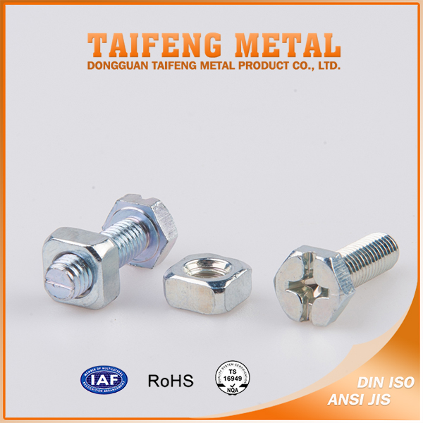 Wholesale Nuts and Bolts M4 Stainless Steel Square Nut