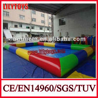 Logo Welcome inflatable swimming pool,inflatable adult swimming pool,large inflatable swimming pool