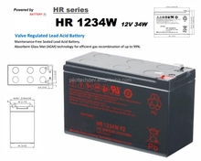 12V 9ah 34W Sealed Lead Acid Battery Hr1234W F2 for UPS