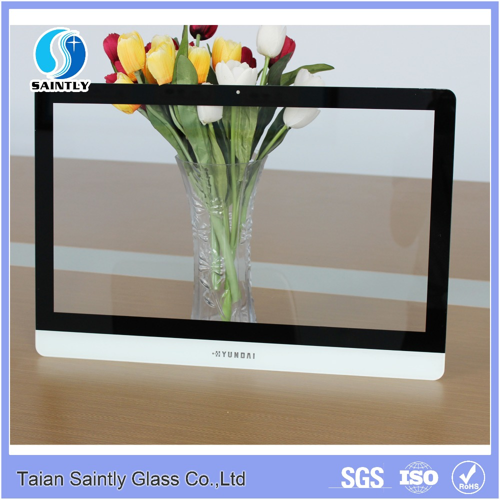 2mm tempered glass screen protector with silk screen printing