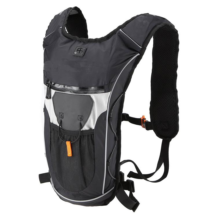 Super Lightweight Hydration Backpack Pack With 2L BPA FREE Bladder with Great Storage Compartments