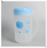 Wholesale 0.5 us gallon Arabic plastic water jug with cover and handle for supermarket