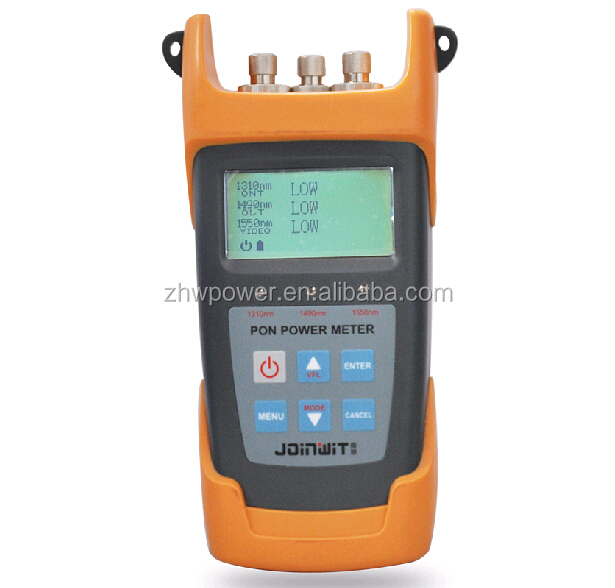 Test 1310nm 1550nm 1490nm optical fiber PON power meter,Fiber Optic test Equipment FTTH