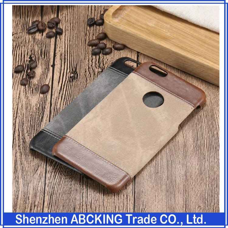 hot selling PU+PC mobile phone case for iPhone SE Cow boy Back Case Phone bags for iPhone 5 6 6S