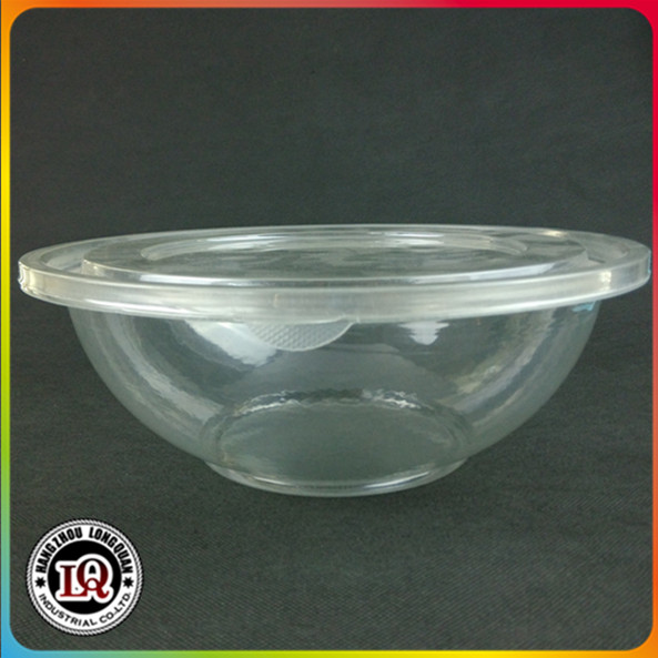 Disposable Plastic Clear Round Food Container