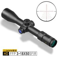 top seller Discovery optical HD 3-18X50sfir waterproof and shockproof hunting first focal plane riflescope