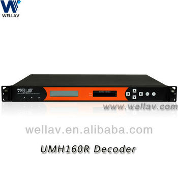 UMH160R SD / HD Professional Satellite IRD