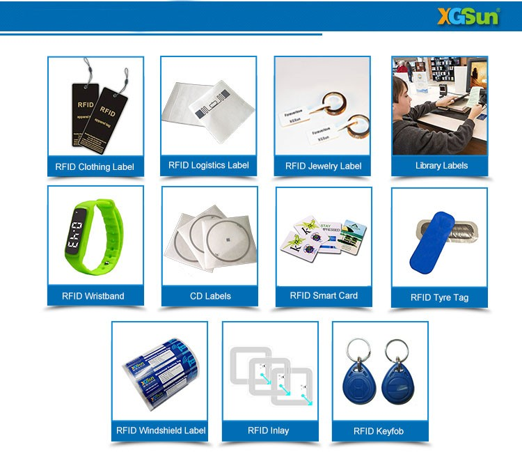 Passive Printing Security Jewelry tags,RFID Jewelry Security Tag