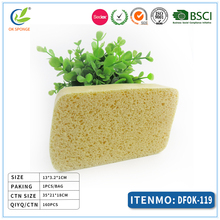 Natural plant fiber water swelling swab clean compressed sponge
