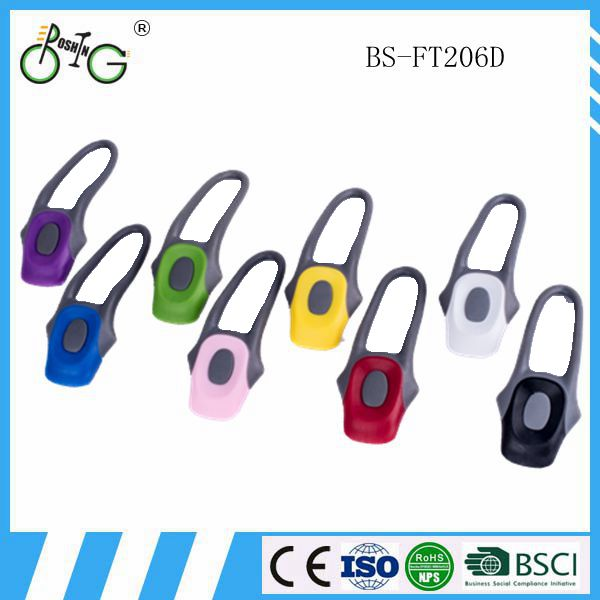 silicone bicycle light blue bike LED Silicone Warning Rear Light / Front Lights