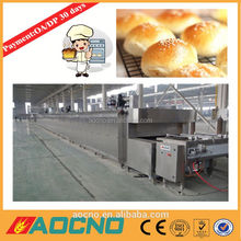 industrial used high capacity gas/electric tunnel oven/bakery equipment baking hamburger tunnel oven line