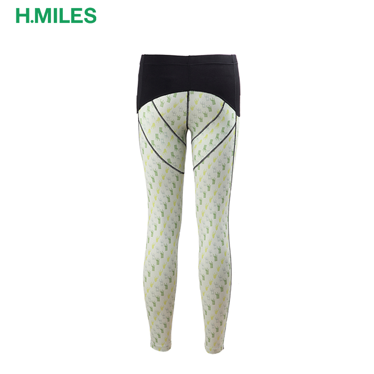 Anti-Bacterial Custom fitness clothes gym women's running tights