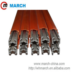 160Amp-500Amp Aluminum.Stainless steel conductor bar MARCH electrical conductor insulator