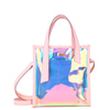 DUBai 2018 new arrival summer women big purse ladies PVC transparent shoulder bag style Jelly crystal ins handbag