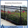 ornamental iron spearhead iron fence finials/pvc coated ornamental wrought iron fence/ornamental double loop wire fence