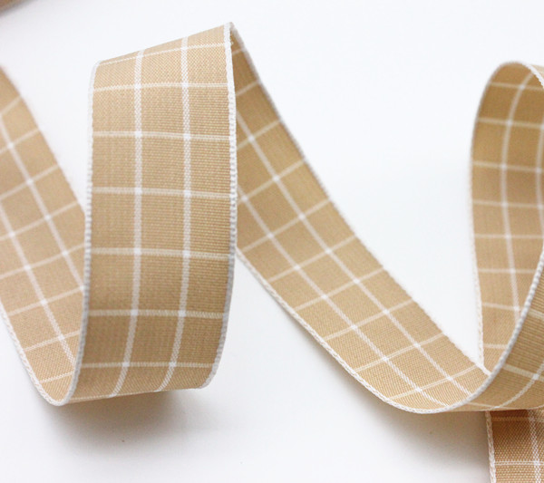 High Quality Custom Pleated Woven Ribbon