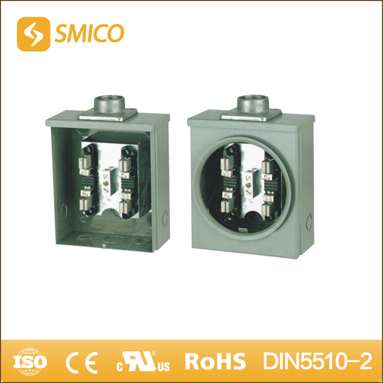 SMICO Amazing Products From China Electric Power Meter Socket Base 100A