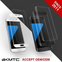 KMTC ODM AF Technology Edge Tempered Glass Screen Protector for Samsung Galaxy S6