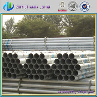 galvanized stove pipe/ 888 steel tube / galvanized steel pipe for greenhouse framework