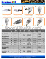 3 watts BrightLux Led Bulb Light