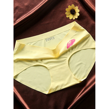 Soft Milk Fabric Material Underwear Assorted Colors Ladies Briefs Big Size Mom's Panties