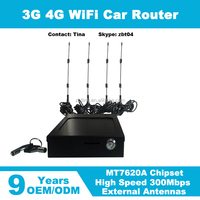 Car wifi with sim for users gps vehice wifi hotspot openwrt wireless router for car