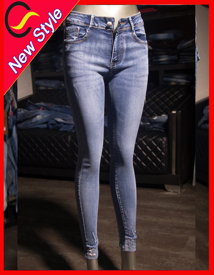 sexy indian suspender urban star jeans women in tight blue jeans