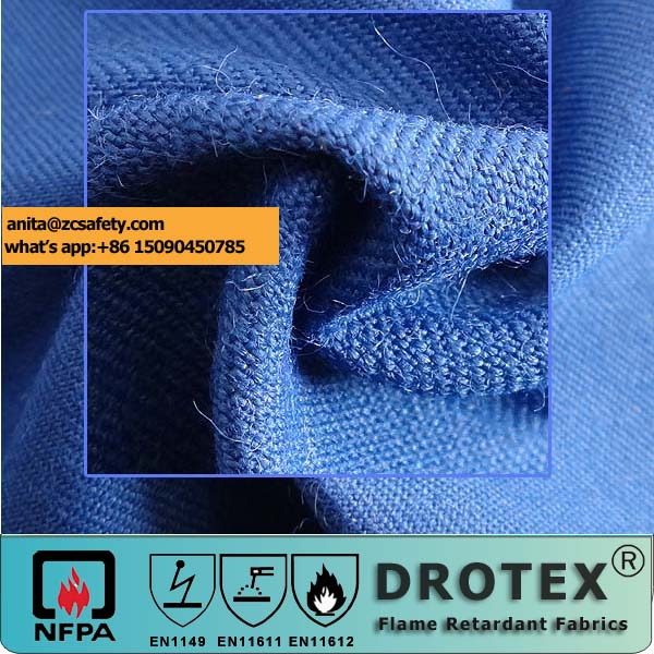 Chinest nomex iiia permanent fire resistant fabric