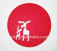 Fashion Deer Felt Decoration Cushion