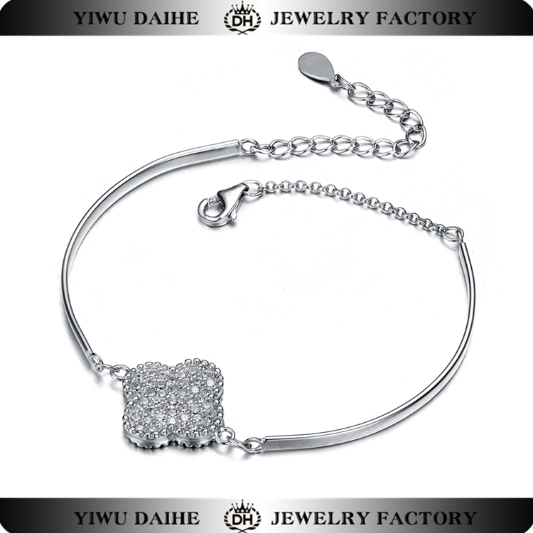 Hot sale for s925 bracelet with flower