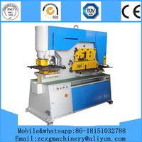 Q35y Series Hydraulic stainless steel punching&cutter,cut and shear punch a hole machine,cut moulds for square steel machine